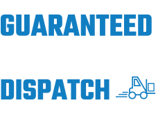 Guaranteed same day dispatch