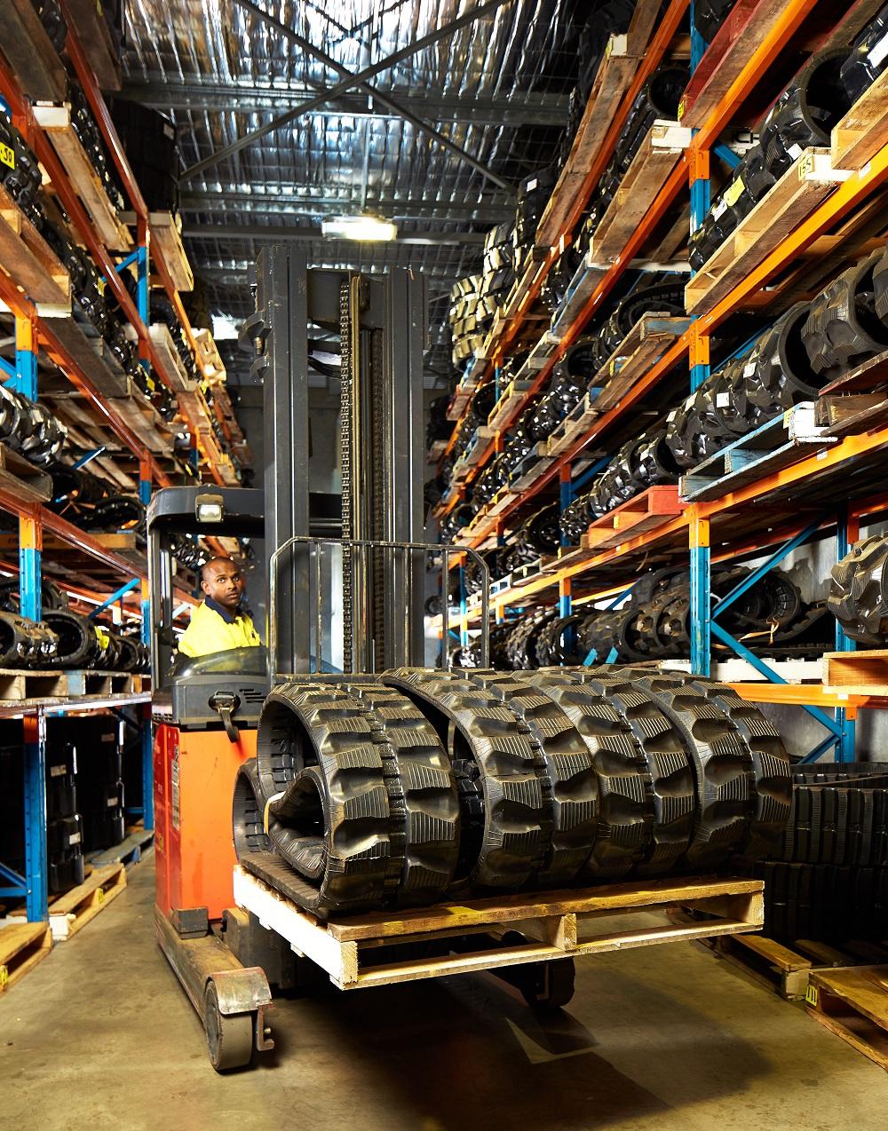 Rubber Tracks warehouse