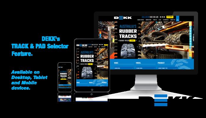 Dekk Rubber Tracks & Pads