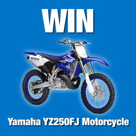 Win a Yamaha Motorcycle Promotion