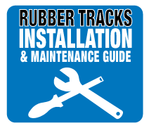 How to fit rubber tracks to your machine