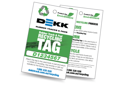 Track & Pad Recycling