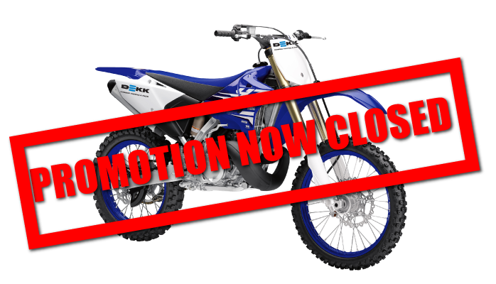 Yamaha Bike Promotion is Closed