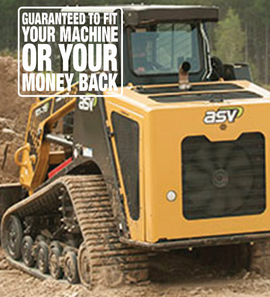ASV rubber tracks