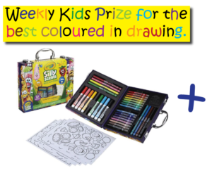 Win Kids Colouring Pack