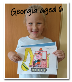 Week 1 Colouring Book Winner